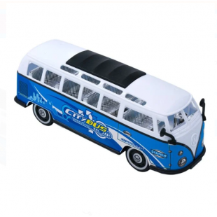 City Bus Super, alb-albastru - Jucarii pentru copii