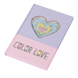 Carnet A5, roz-mov - Color Love