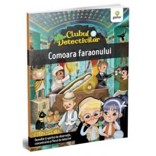 Comoara faraonului - Carte cu activitati pentru copii (4-7 ani)