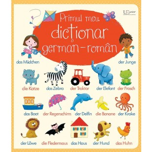 Primul meu dictionar german-roman