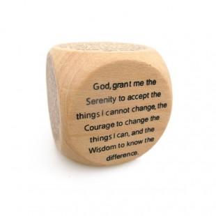 Cub lemn - Mesaj engleza