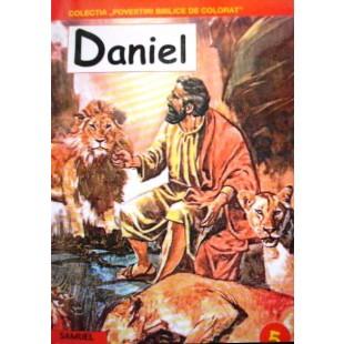 Daniel - Povestiri crestine de colorat