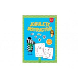 Carte pentru baietii - Joculete distractivecu stickere (+5 ani)