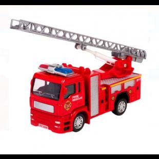 Masina de pompieri, rosie, Die Cast - Jucarii pentru copii (3+)