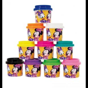Plastilina DOH, 10 culori - Minnie - Activitati pentru copii (3+)