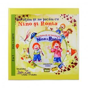 Învăţăm şi ne jucăm cu Nino şi Ronia - Povestiri - DVD + Carte