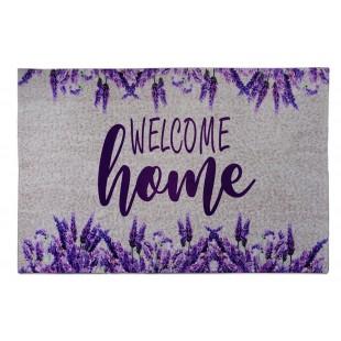 Covoras decorat - Welcome home