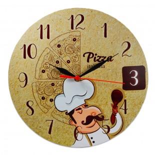 Ceas perete  - Pizza