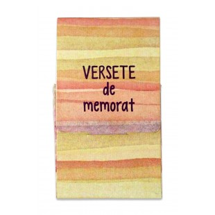 Set de 10 Carduri cu versete - Clasele 10-11