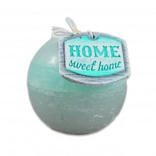 "Lumanare glob ""Home Sweet Home"" (80mm)"