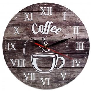 Ceas perete  - Coffee (28 x 28 cm)