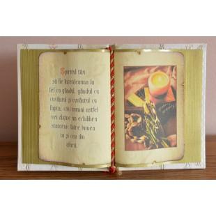 Carte decorativa - Spiritul tau sa fie... (14x21 cm)