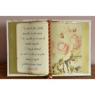 Carte decorativa - Nu uita ca esti o fiinta... (14x21 cm)