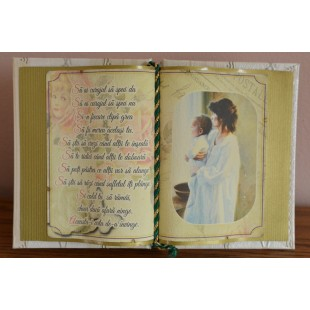 Carte decorativa - Sa ai curajul sa spui da... (14x21 cm)