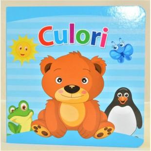 Culori - Sa invatam culorile (15,5x15,5cm)