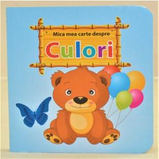 Mica mea carte despre Culori - Carte educațională pentru copii