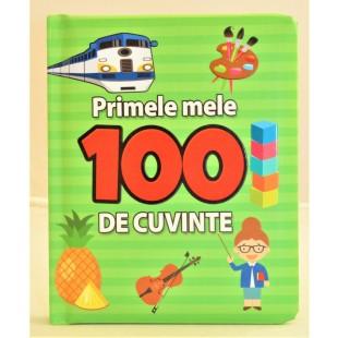 Primele mele 100 de cuvinte - Carte educațională pentru copii