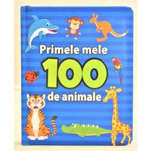 Primele mele 100 de animale - Carte educațională pentru copii