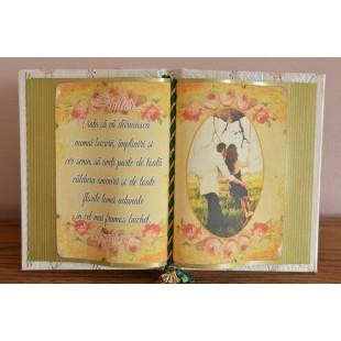 Carte decorativa - Finilor... Viata sa va daruiasca numai bucurii... (14x21 cm)