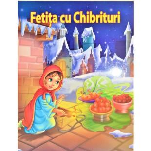 Fetita cu Chibrituri - Povestire cu imagini pentru copii