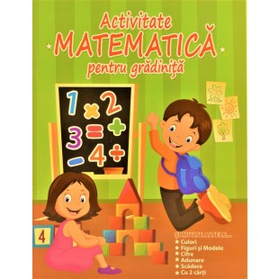 Activitatea - Matematica pentru gradinita (culoare verde)
