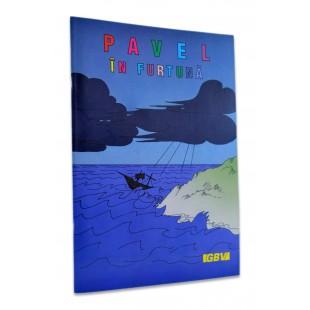 Povestiri biblice de colorat - Pavel in furtuna