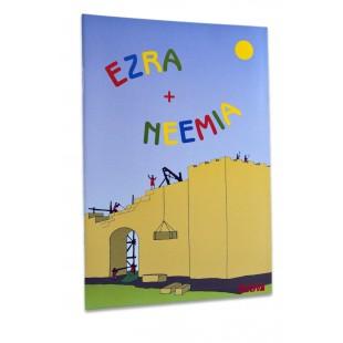 Povestiri biblice de colorat - Ezra si neemia