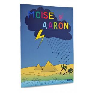 Povestiri biblice de colorat - Moise si Aaron