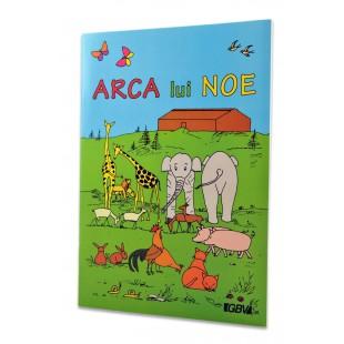 Povestiri biblice de colorat - Arca lui Noe