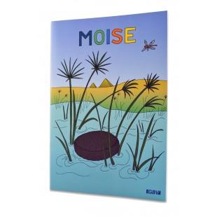 Povestiri biblice de colorat - Moise