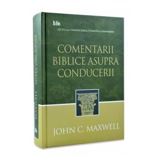 Comentarii biblice asupra conducerii de John C. Maxwell
