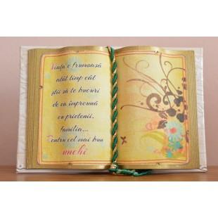 Carte decorativa - Viata e frumoasa...(10x14 cm)