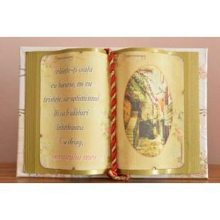 Carte decorativa - Traieste- ti viata cu bucurie... (10x14 cm)