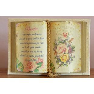 Carte decorativa - Nasului... Un simplu multumesc...(10x14 cm)