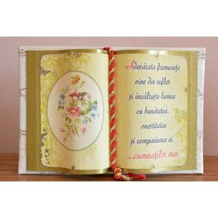 Carte decorativa - Adevarata frumusete vine din suflet...(10x14 cm)