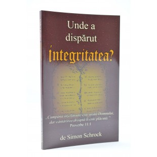 Unde a disparut integritatea de Simon Schrock