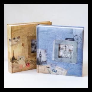 Album foto maro sau albastru Travel (23x22x5cm)