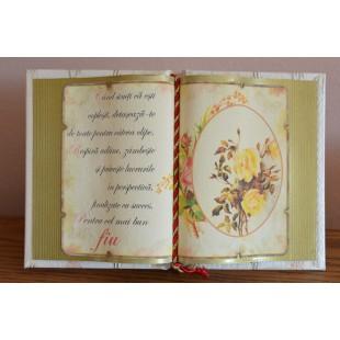 Carte decorativa- Cand simti ca esti coplesit...(14x21 cm)