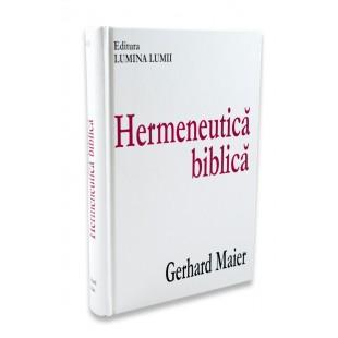 Hermeneutica Biblica de Gerhard Maier