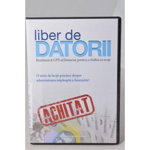 Liber de datorii, DVD