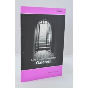 Ganduri asupra Epistolei carte Galateni de Henri Rossier