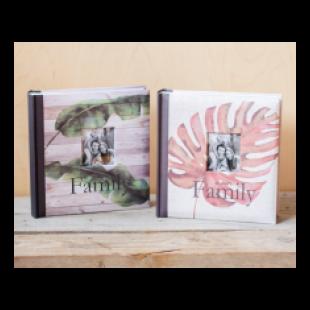 Album foto cu frunze Family (23x22x5cm)