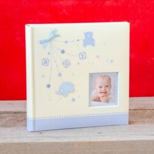 Album foto baby - Boy cu poza (22 x 22 x 4.5 cm)