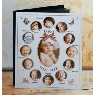 Album foto Baby's first year ( 24.5x29.5x3.5 cm )