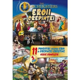 DVD - Eroii Credintei - Desene animate dublate in limba romana
