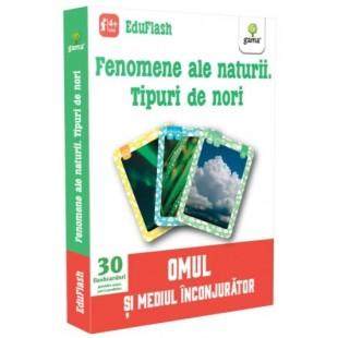 Fenomene ale naturii, Tipuri de nori - Carte educativa pentru copii (4-6 ani)
