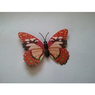Fluturi decorativi 3D cu magnet(28)