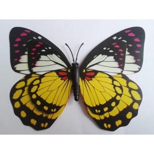 Fluturi decorativi 3D cu magnet(25)