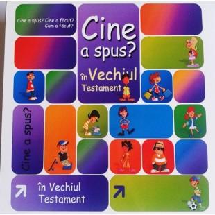Jocuri biblice - Cine a spus? Cine a făcut... în Vechiul Testament?