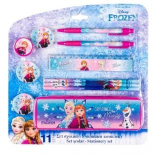 Set Scolar, 11 piese - Frozen (Rechizite pentru scoala)